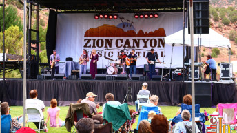 Zion Canyon Music Festival 2015 features music, food, friends and beautiful scenery