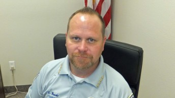 New Springdale Chief of Police Garen Brecke welcomed to the team