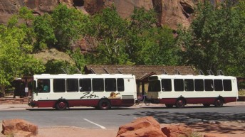 Zion National Park October shuttle schedule has minor changes