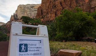 A second Zion National Park shutdown possibility for October 1