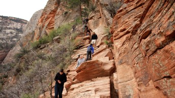 UEA break means a busy weekend for Zion National Park