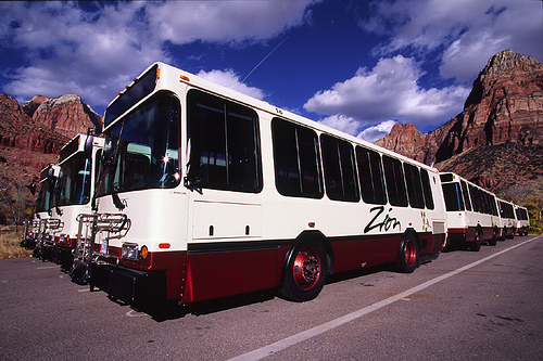 Updated fall & winter shuttle schedule for Zion National Park
