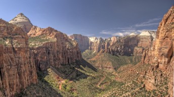 Zion Canyon Overlook in Zion National Park