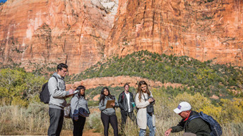 DSU's Geology of the National Parks course tours Utah national parks