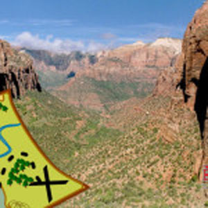Zion National Park's best hikes: Zion Canyon Overlook