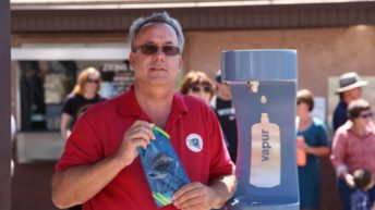 First Springdale hydration station installed in town