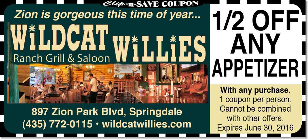 Springdale Restaurant Coupon